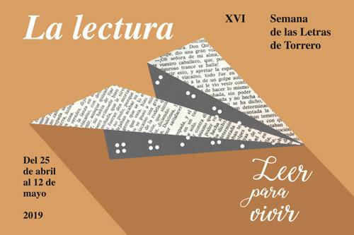 Torrero celebra su XVI Semana de las Letras bajo el título «La lectura: leer para vivir»