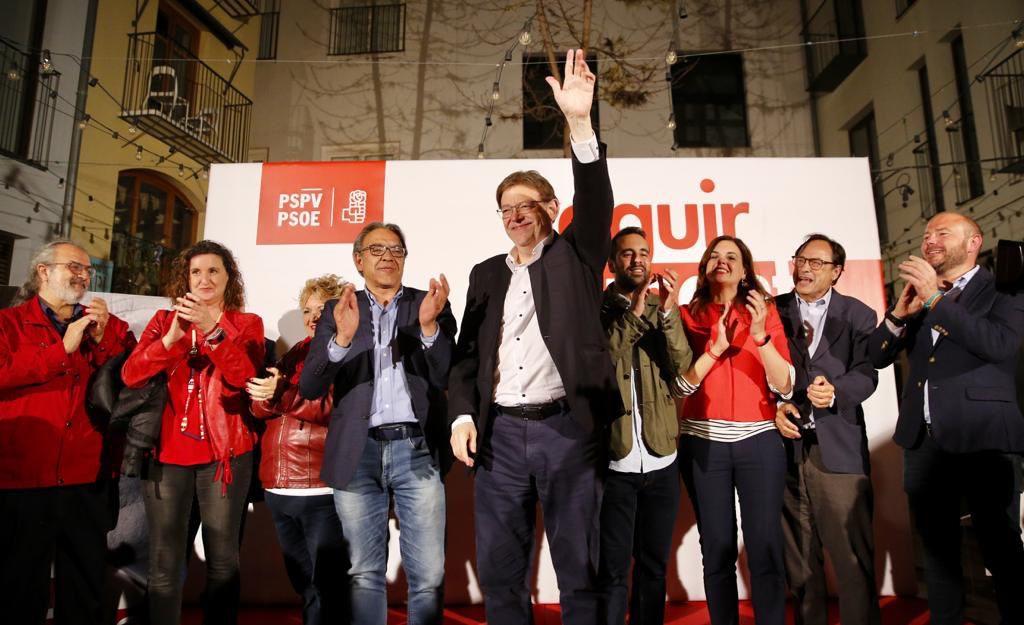 PSOE, Compromís y Unidas Podemos conservan la mayoría absoluta en las Corts Valencianes