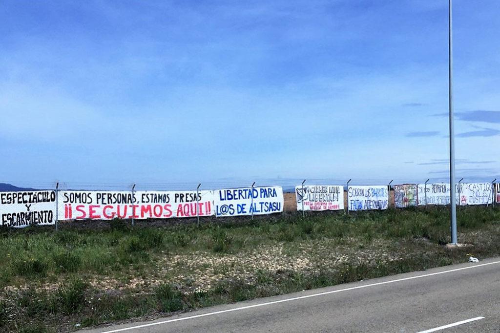 Marcha a la cárcel de Zuera: Fiel a su cita, siempre distinta