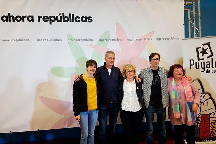 Las bases de Puyalón aprueban por unanimidad volver a participar en Agora Republicas para el 10N