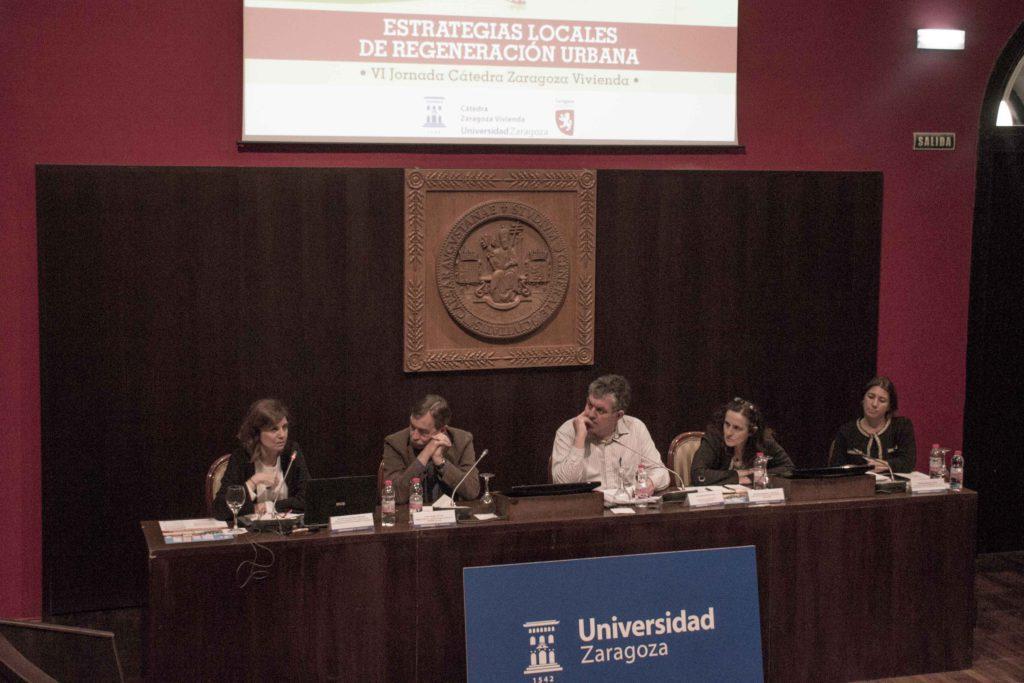 Ayuntamiento y Universidad apuestan por aumentar la tasa de rehabilitación en Zaragoza y piden mayor inversión estatal en políticas de vivienda