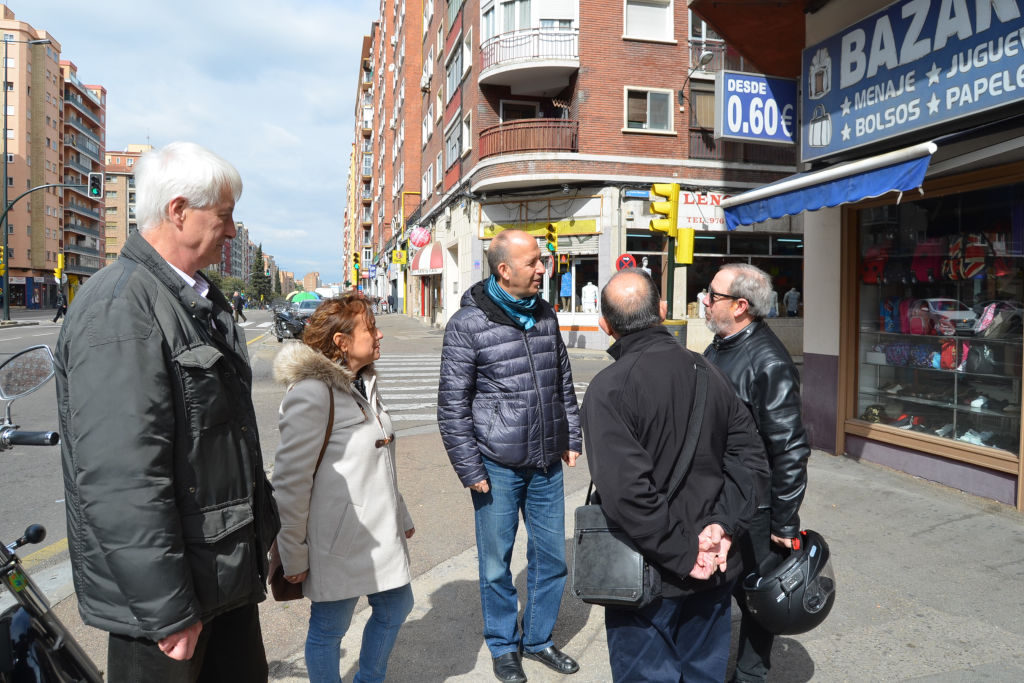 CHA reclama la renovación de la Avenida Navarra de Zaragoza