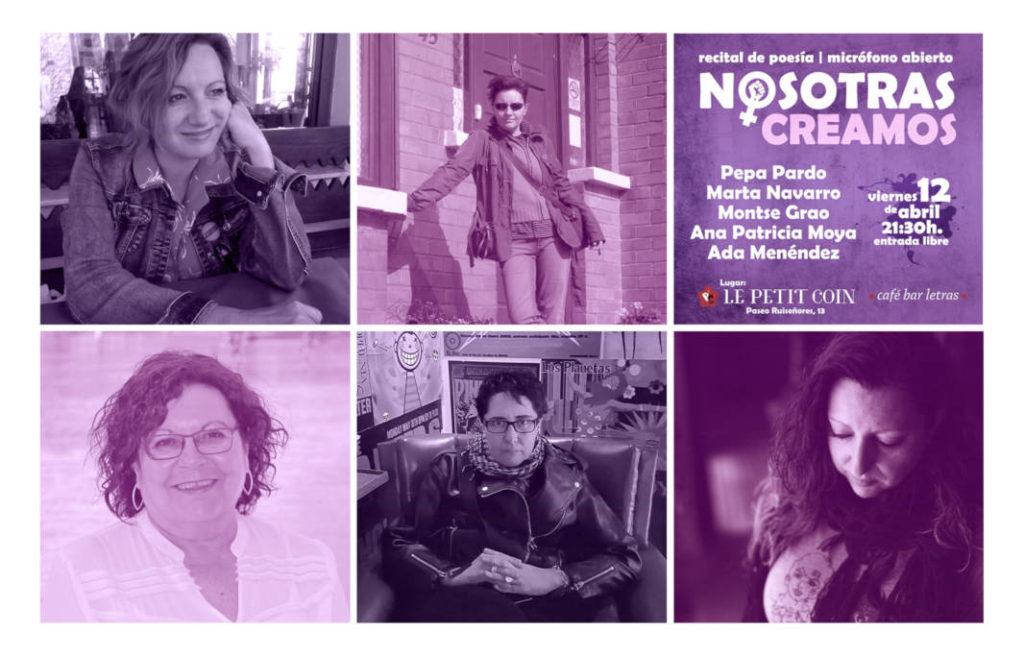 Nace 'Nosotras creamos' un evento multidisciplinar de mujeres artistas