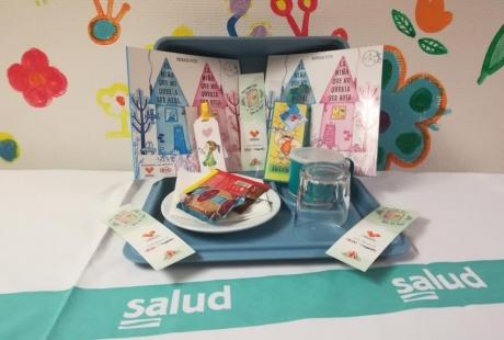 El Hospital Infantil de Zaragoza celebra el Día del Libro