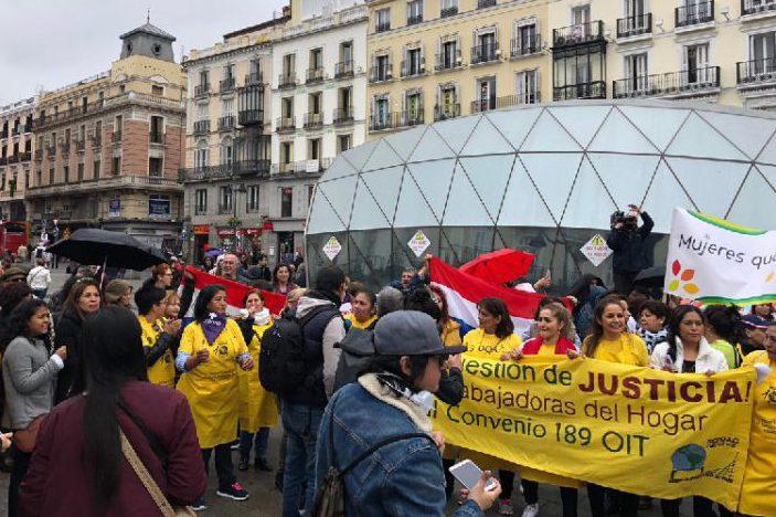 Se constituye en Madrid una plataforma en defensa de los derechos de las empleadas del hogar