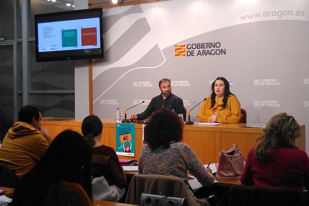 Más de 100.000 mujeres en Aragón han sufrido violencia sexual en algún momento de su vida