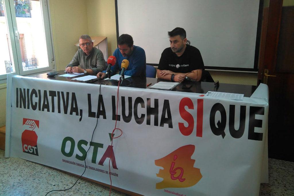 OSTA denuncia que la ley de diálogo social excluye al 30% de la representación sindical en Aragón