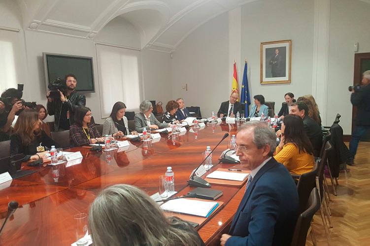 Aragón recibirá 4,7 millones de euros del Pacto contra la Violencia Machista