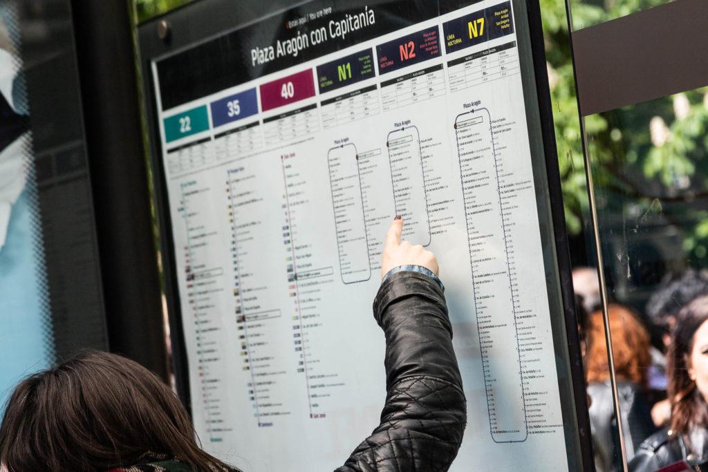 """Un sistema de información """"moderno, más comprensible y accesible"""" para la red de autobuses urbanos de la capital aragonesa"""