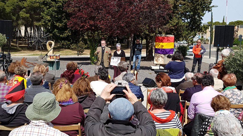 14 de abril en recuerdo a las víctimas del franquismo en Zaragoza