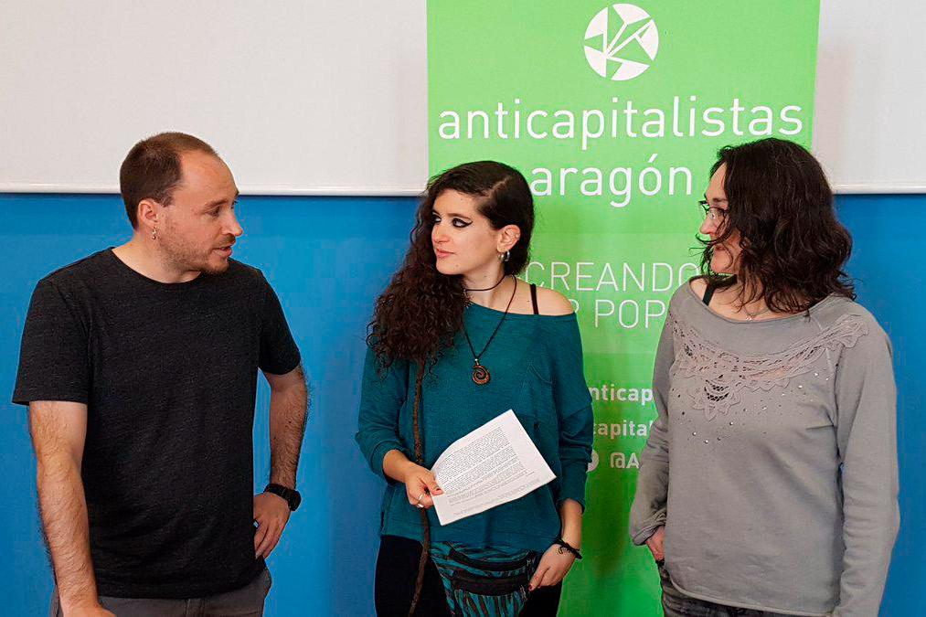 Pablo Rochela e Itziar Apellániz dimiten de Podemos Aragón tras la ruptura con ZeC