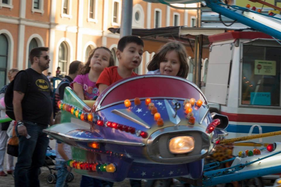 Ferias sin ruido para niños y niñas autistas en las fiestas del Arrabal