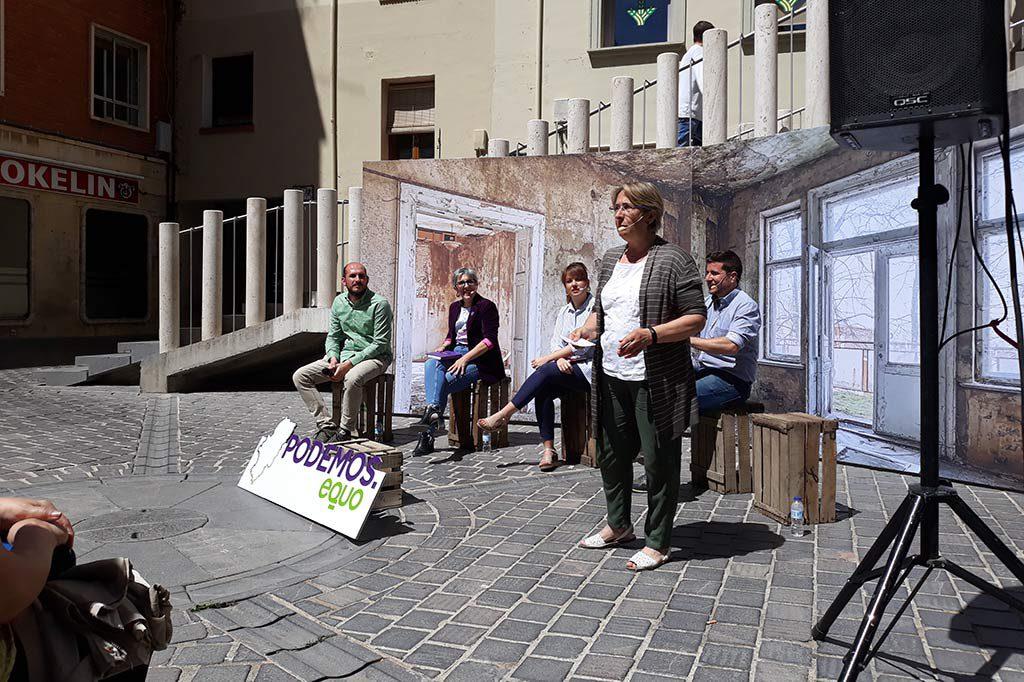 Blanca Villarroya (Espacio Municipalista) defiende un nuevo modelo de gestionar Teruel más ecológico
