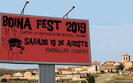 El Festival contra la despoblación de la Serranía Celtibérica, Boina Fest, anuncia sus primeras confirmaciones: Nono, Noiah y Versionalia