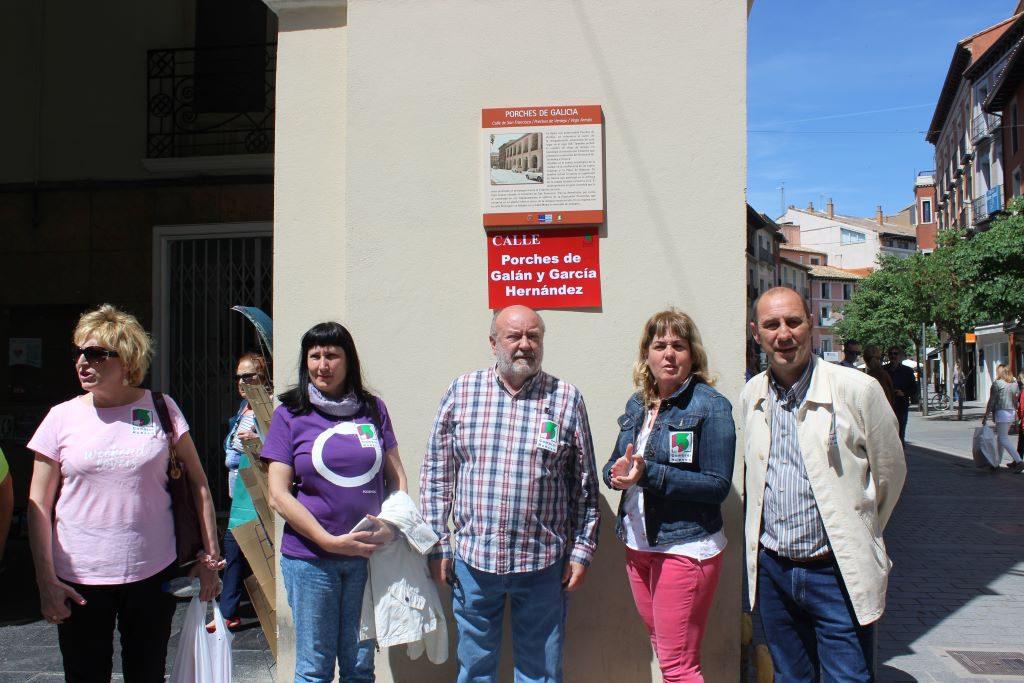 Cambiar Huesca aboga por el cumplimiento de las leyes de Memoria Histórica