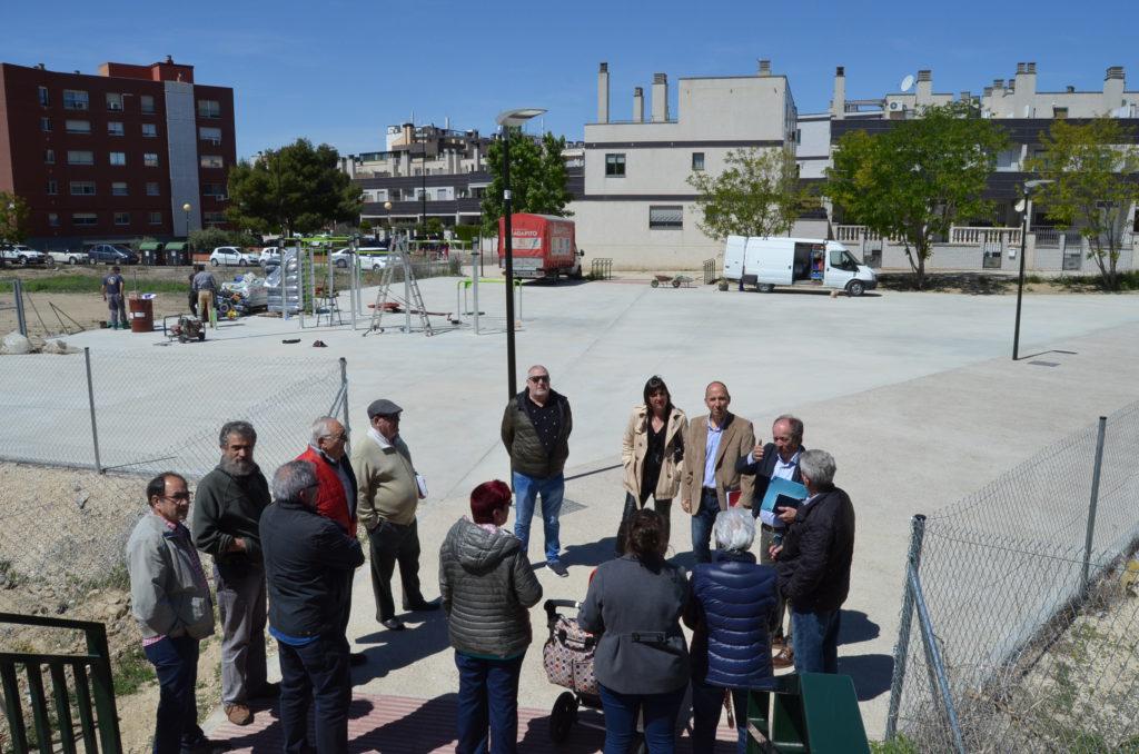 Carmelo Asensio presenta la primera fase del parque sobre la Z-40