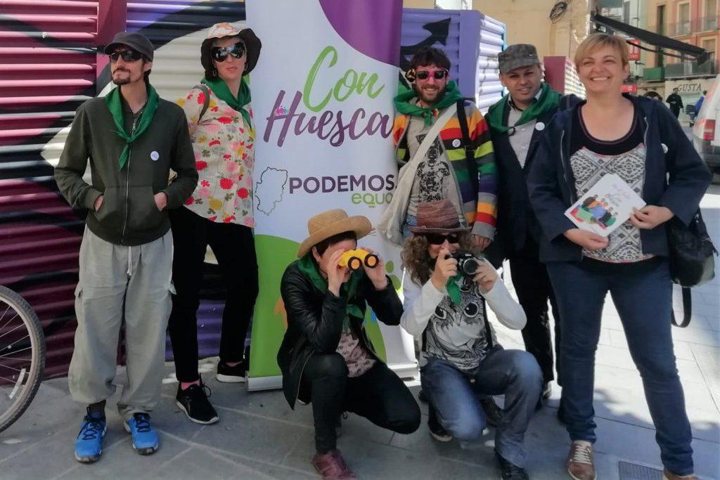 """Con Huesca propone medidas para mejorar la """"situación de abandono"""" de los solares del centro y rehabilitación de viviendas"""