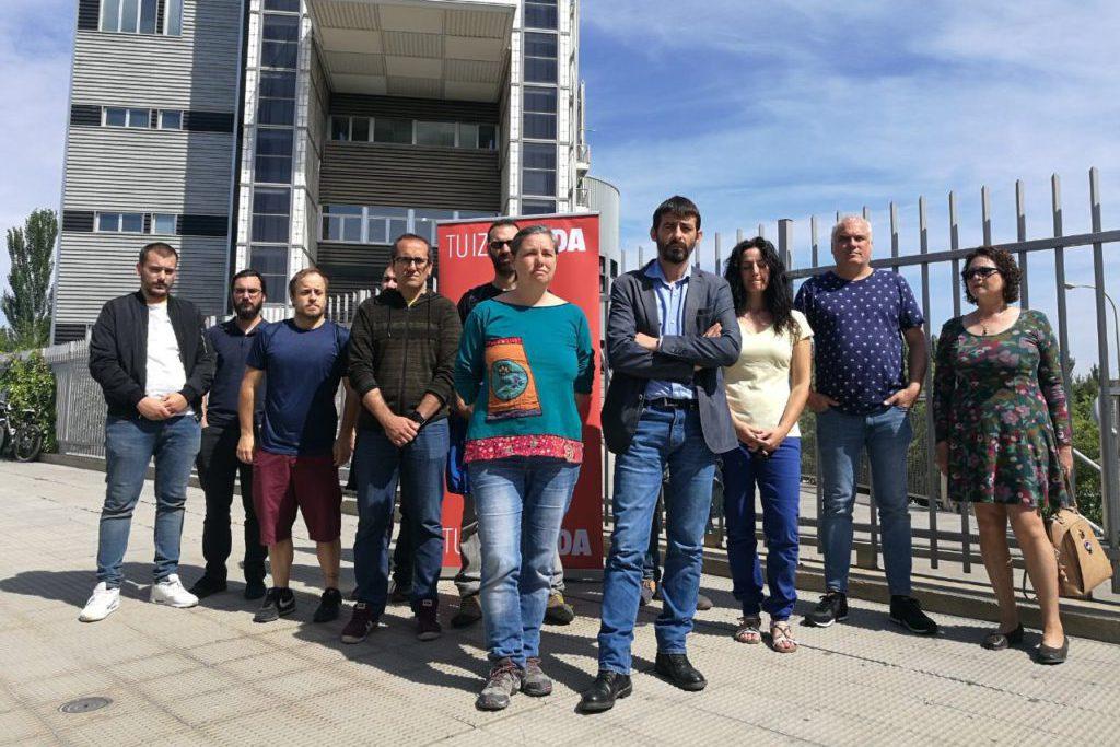 """Sanz: """"El modelo de precariedad favorece la siniestralidad laboral que en Aragón alcanza cifras inasumibles"""""""
