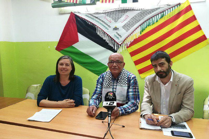 IU denuncia la «escalada de violencia» contra el pueblo palestino