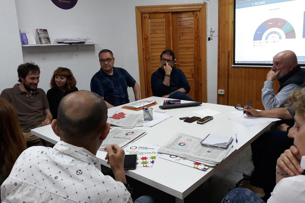 """Espacio Municipalista Teruel valora sus resultados como """"moderados pero satisfactorios"""""""