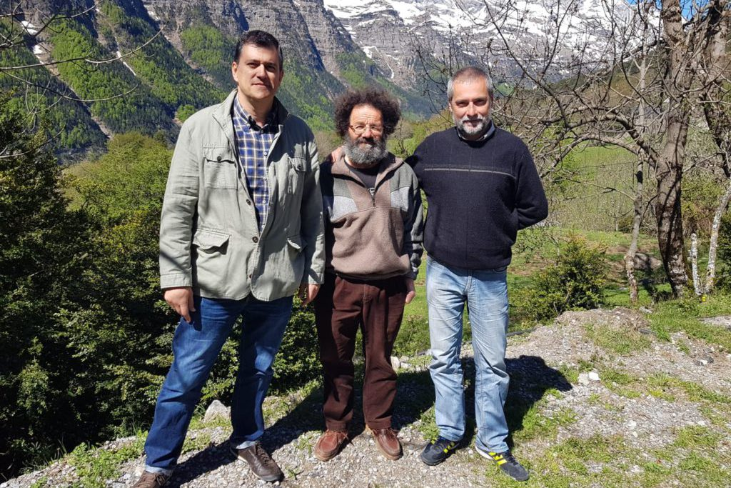 Joaquín Palacín apoya en Espierba la ganadería extensiva