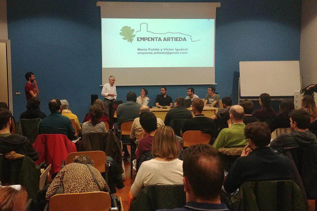 Empenta Artieda presenta en Teruel su experiencia de repoblación de la localidad