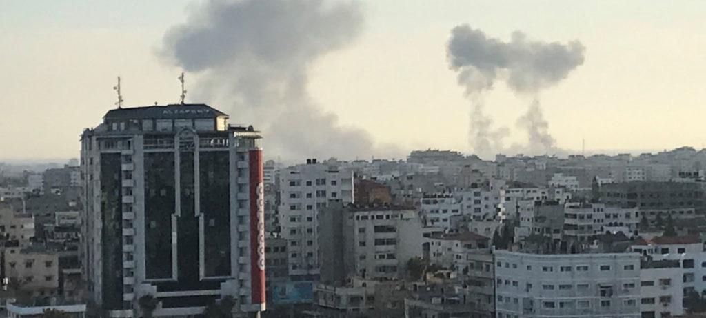 Hamas e Israel acuerdan un alto el fuego en Gaza tras 48 horas de ataques y 25 palestinos asesinados