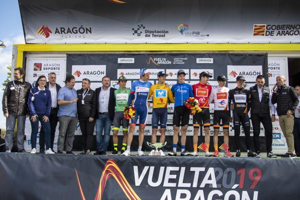 El ciclista catalán Eduard Prades se lleva la Vuelta Aragón en la última etapa que gana el italiano Matteo Pelucchi