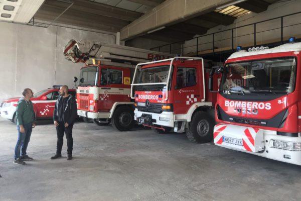 """Ganar Teruel promoverá que la ciudad """"cumpla la legalidad"""" en materia de bomberos y extinción de incendios"""