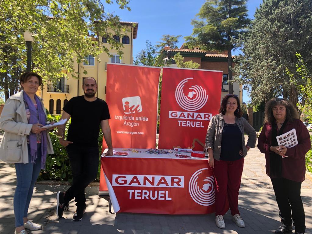 Ganar Teruel apuesta por el transporte y los centros socioculturales como elementos dinamizadores de los barrios rurales