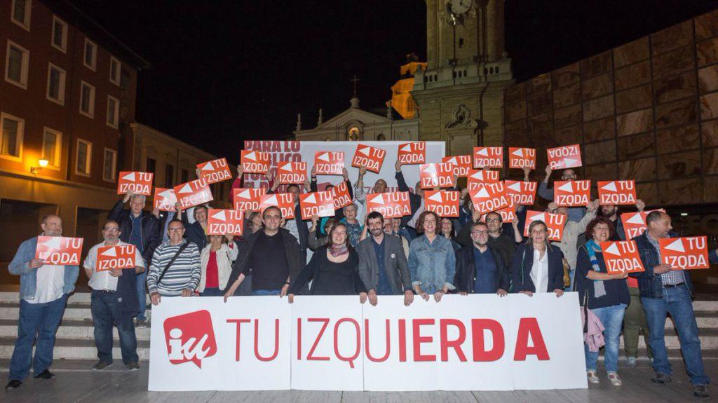 La Coordinadora de IU acuerda apoyar la investidura de Lambán como presidente de Aragón