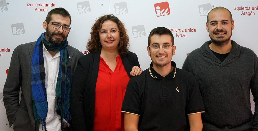 Ganar Teruel – Izquierda Unida presentan 22 candidaturas en la circunscripción de Teruel