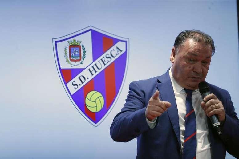 Detenido Agustín Lasaosa, presidente de la Sociedad Deportiva Huesca, en una operación policial por amaño de partidos