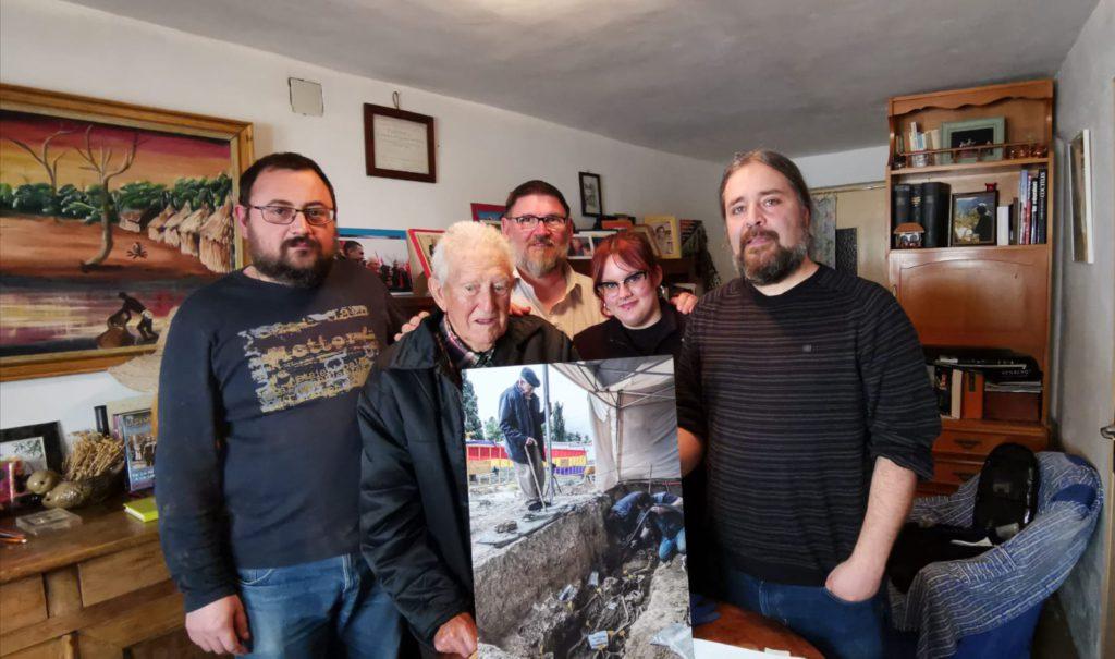 Memoria, justicia y reparación: Martín Arnal Mur recupera los restos de su hermano después de 83 años