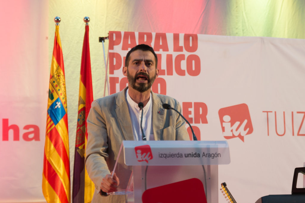 IU Aragón reclama en las Cortes medidas para mejorar las condiciones laborales del sector de la Dependencia