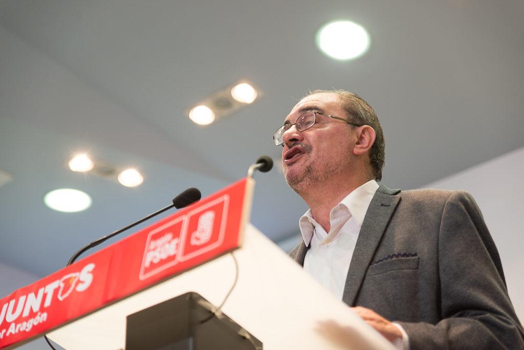 """Lambán inicia conversaciones con todos los partidos, excepto Vox, para """"formar un Gobierno basado en la centralidad"""""""