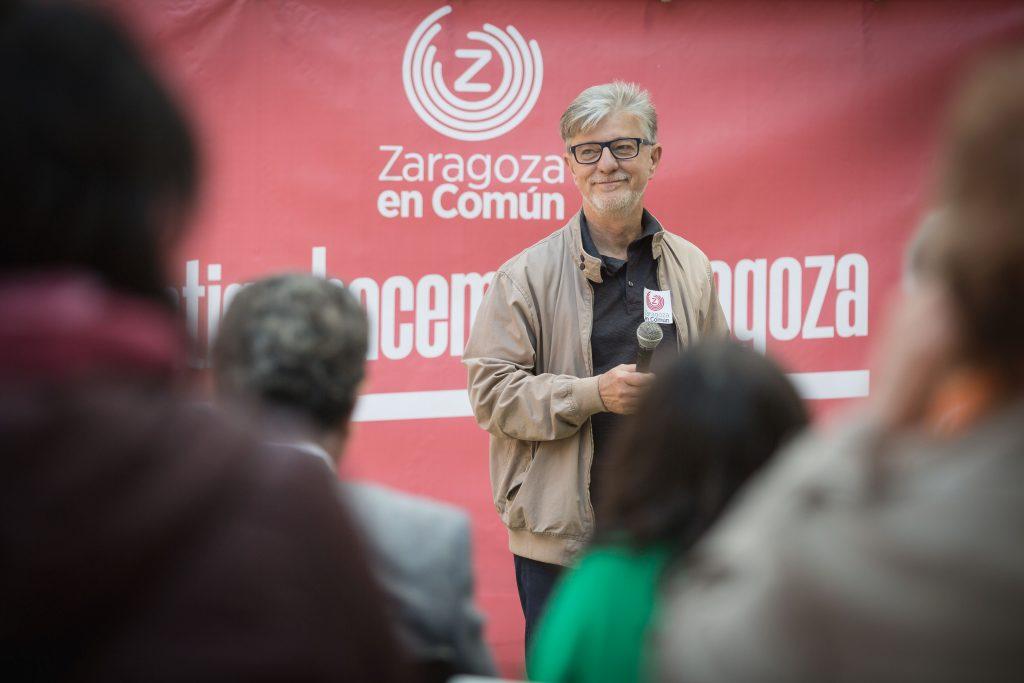 Zaragoza en Común quiere crear un servicio de conciliación familiar y espacios de cuidado para mayores y dependientes en todos los barrios