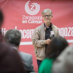 """Santisteve: """"Nada justifica que Azcón paralice el proyecto del Parque Pignatelli, salvo que esté pensando en hacerlo a medida de sus amigos"""""""