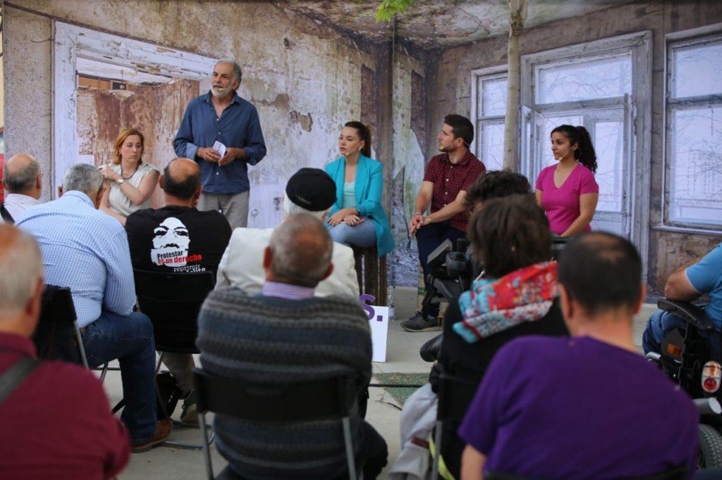 """Maru Díaz: """"Hay que paliar la dificultad de acceder a una vivienda no solo en las ciudades, como ocurre en Zaragoza, sino también en el mundo rural"""""""