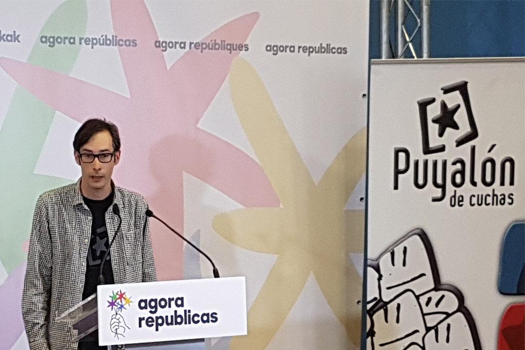 """Daniel Lerín (Puyalón): """"El objetivo de frenar a la ultraderecha se ha logrado"""""""