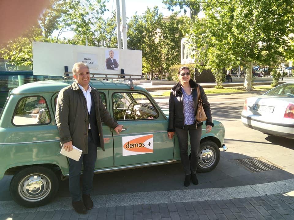 Burillo y Serrano, candidatos de Demos+ por Zaragoza