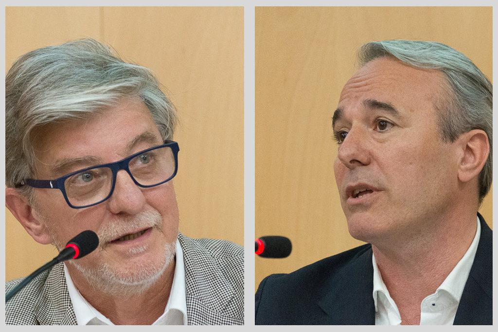 Zaragoza en Común y Partido Popular acuerdan un debate cara a cara entre sus dos candidatos: Pedro Santisteve y Jorge Azcón