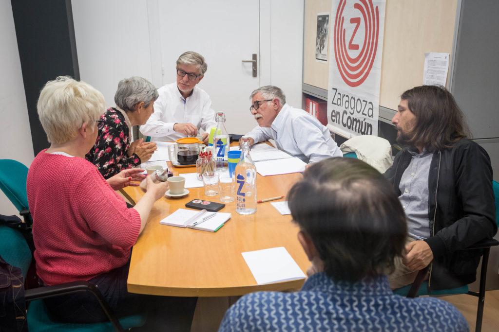 """Zaragoza en Común defiende la """"gestión pública, transparente y justa del agua"""""""