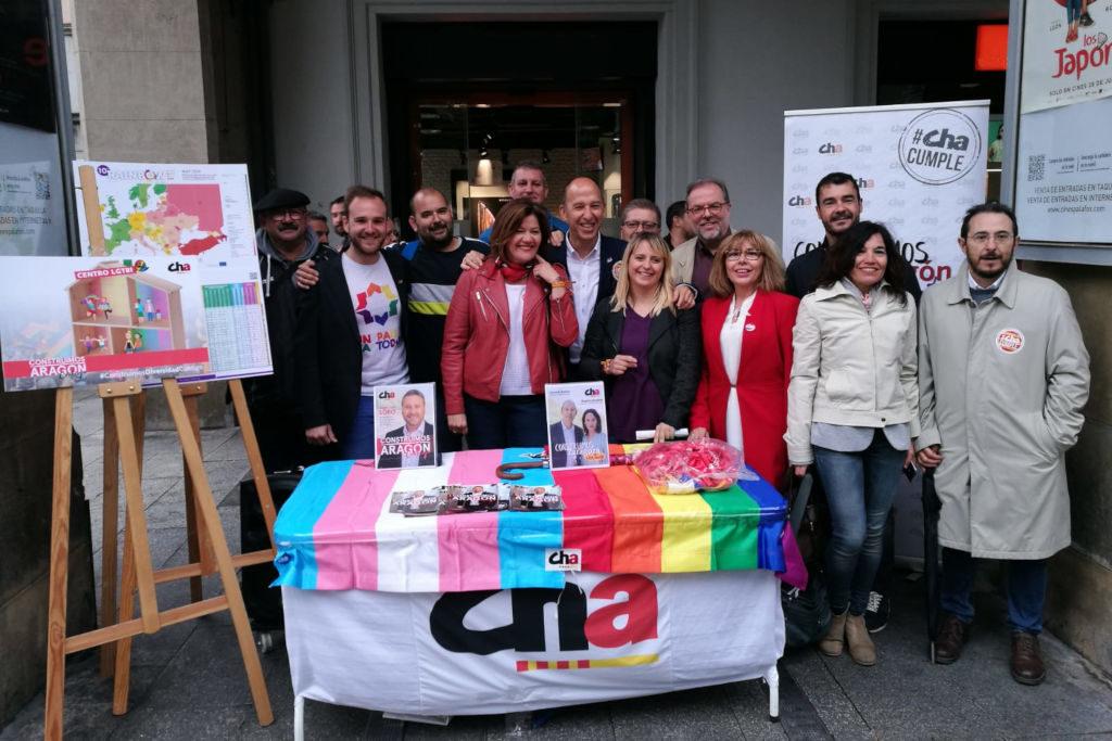 CHA responde a la discriminación y la violencia contra el colectivo LGTBI