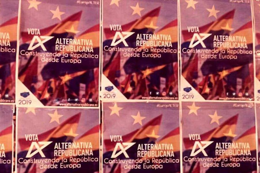 Miguel Aso y Alba Alonso representan a Aragón en la candidatura de Alternativa Republicana a las europeas