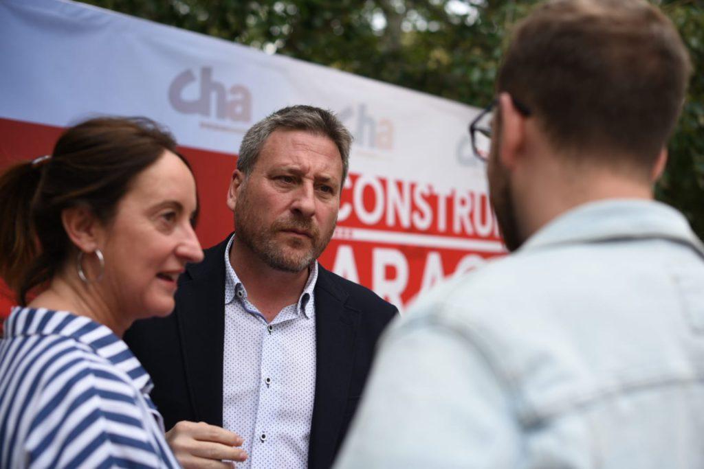 """CHA hace un llamamiento a PSOE, Podemos, IU y PAR para """"explorar fórmulas que permitan conformar gobierno en Aragón"""" sin el trifachito"""