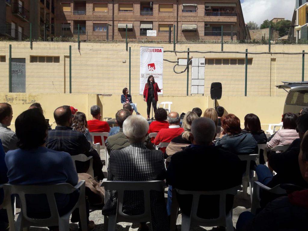 Vanessa Angustia (Unidas Podemos) defiende una Europa anticolonialista, antifascista, feminista y solidaria frente a la actual Europa del capital