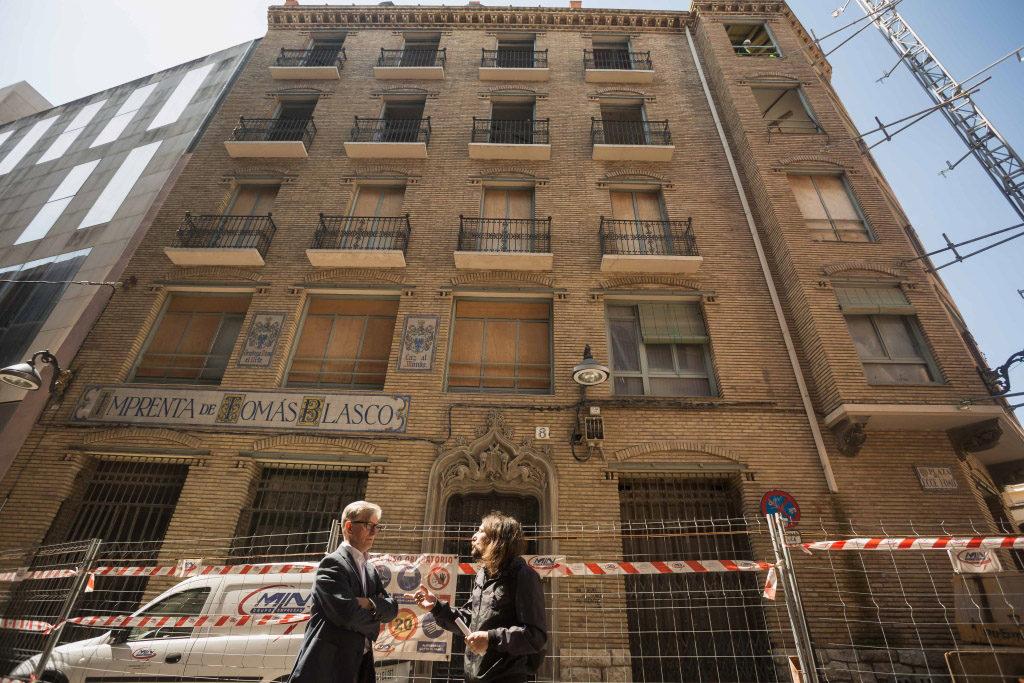 Zaragoza en Común se marca el objetivo de pinchar la burbuja del alquiler para facilitar el acceso a la vivienda