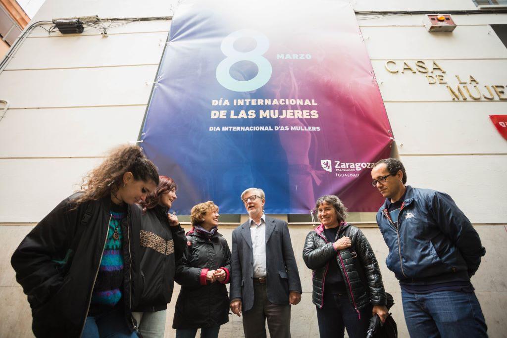 Zaragoza en Común recoge las demandas del movimiento feminista para construir una ciudad más justa, libre de violencias y cuidadora