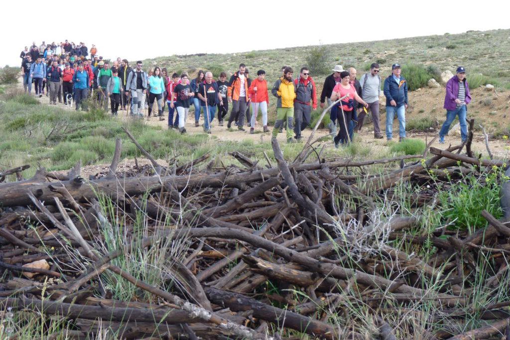 La X Andada 'Nuestros montes no se olvidan' tendrá lugar el 1 de junio en Exulve/Ejulve
